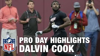 Dalvin Cook Pro Day Highlights and Path to the Draft Analysis | NFL | Path to the Draft