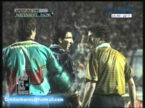 Independiente 2 Racing 2 Apertura 1995 Resumen Completo