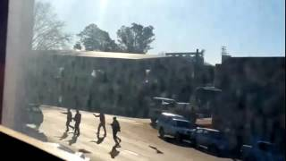 Wild West style shootout in Bergville KZN, South Africa