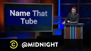 Nick Offerman, Aimee Mann, Dana Gould - Name That Tube -  @midnight w/ Chris Hardwick