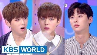 Hello Counselor - Wanna One's Kang Daniel, Park Jihoon, Hwang Minhyun [ENG/THAI/2017.09.11]