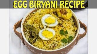 Easy & Instant EGG BIRYANI Recipe in HINDI.