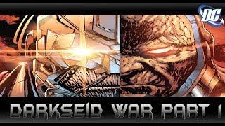 ผู้ที่จะฆ่า Darkseid คือผู้ดูดกลืนจักรวาล! Darkseid War Part 1 - Comic World Daily