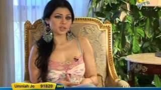 Haifa Wehbe- Melody interview Pt.1
