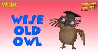 Wise Old Owl - Motu Patlu Rhymes in English - Available Worldwide!