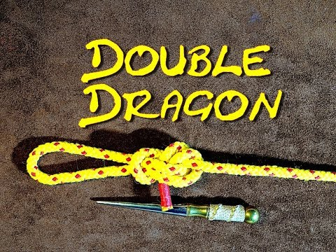 Xxx Mp4 Double Dragon Loop How To Tie The Double Dragon Loop Very Secure End Of Line Loop Knot 3gp Sex