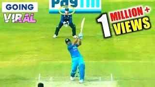 SIX Gone Out Of Stadium | MS Dhoni Longest Sixes In Cricket History
