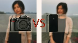 iPhone 7 plus (Portrait Mode) vs DSLR (Nikon D90)