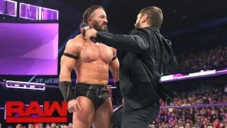 Austin Aries attacks Neville: Raw, March 6, 2017