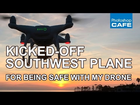I got dragged off the plane for being safe with my drone