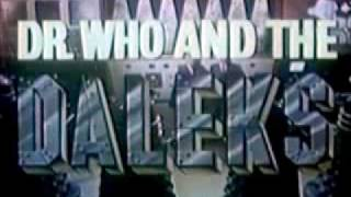 Dr. Who and the Daleks Trailer (American)