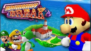 30 Hidden Out of Bounds Discoveries in Super Mario 64    Boundary Break