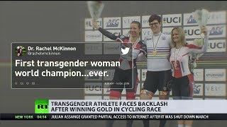 Transgender athlete faces backlash after winning gold in cycling race (Debate)