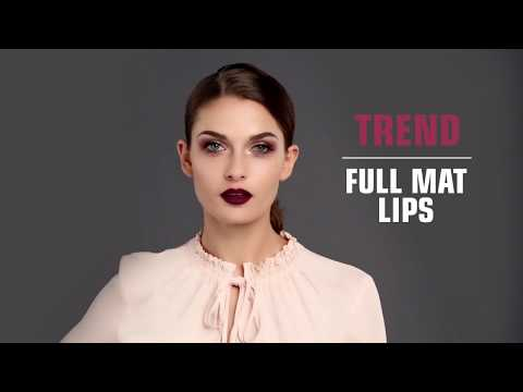 Full Mat Lip Color   Fashion Colors Fall Winter Beauty of Nature 2017