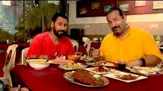 Rocky enjoys seafood delicacies in Karwar