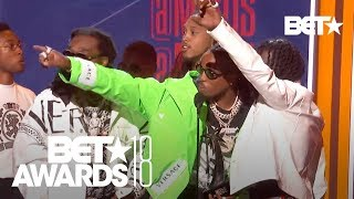 Migos Take the W for Best Group! | BET Awards 2018