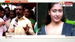 I suggest Gayathri Raghuram to live with Slum people : Thirumavalavan | Polimer News