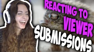 Sweet Anita Tourettes Reacting To Viewer Submissions