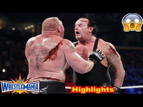 Xxx Mp4 WWE Wrestlemania 30 Undertaker Vs Brock Lesnar Full Highlights Match HD 3gp Sex