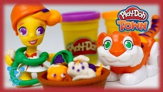Play Doh Town Doctor - Educational video for children - Toys for kids - Claymation Stop Motion 4K
