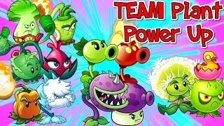Plants vs. Zombies 2 New TEAM PLANT POWER UP - Modern Day 23
