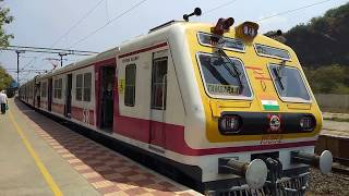 NEW SENSATION IN CITY   MEDHA EMU FOR CHENNAI SUBURBAN