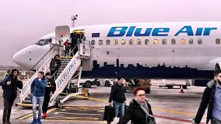 WORST Flight of the year: BLUE AIR trip report, Birmingham - Cluj/Napoca, Boeing 737-800