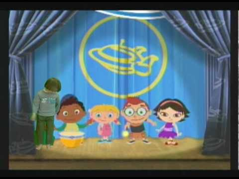 Ben inside Little Einsteins