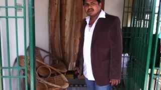 A fan imitating Pawan Kalyan's Panjaa