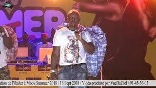 Pikaluz « Le Dieu du 228 Rap Game » en scène pour annoncer Tenor à Moov Summer 2018.