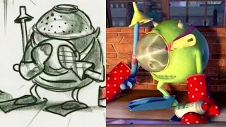 """Monsters Inc. Side by Side """"Fright Night"""" Pt 1 