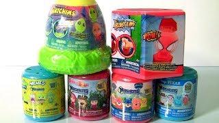 Coleção Mashems Fashems Mania ToysBR Heróis Patrulha Canina SpongeBob Homem-Aranha Toys BR