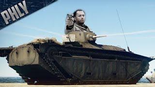 SAVING PRIVATE PHLY - LVT Amphibious Squad (War Thunder Tanks)