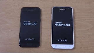 Samsung Galaxy A3 2017 vs J3 2016 - Speed Test!