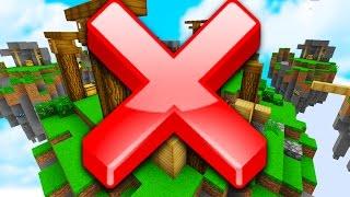 DO NOT WATCH THIS VIDEO! (Minecraft Skywars)