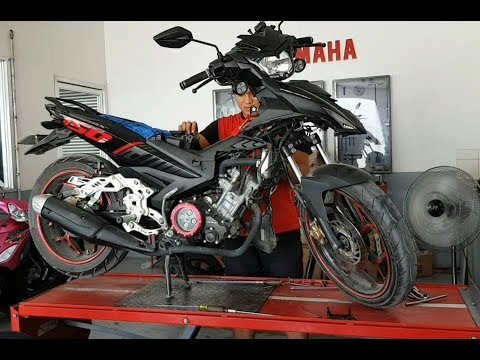 Going to Yamaha for F.i and Throttle body cleaning [] Change oil [] Sniper150 [] Episode 14