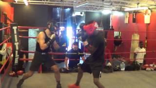 UFC Fighter Matt Schnell vs Amateur Boxer (INTENSE SPARRING)