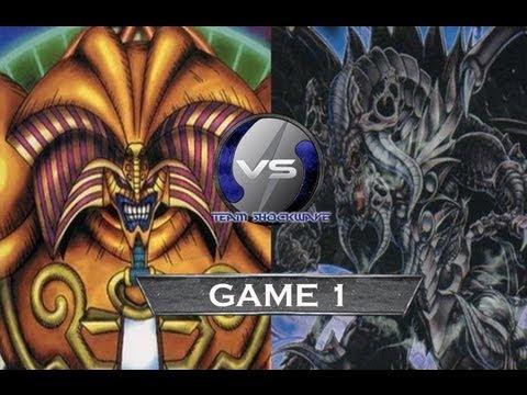 Yu Gi Oh Local Tournament Final Exodia vs Dark World Game 1