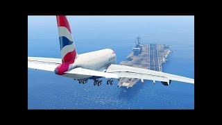 Top 5 most dangerous airports in the world!  -=HD=-  Planes sit in a crosswind without crash es