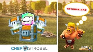 TRYHACK.EXE AKTIVIERT? | CLASH ROYALE CHEST OPENING