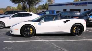 WhipAddict: CARTUNES of ATLANTA Shop Visit:  Huracan, Ferrari 488 GTB, Overfinch Range Rover