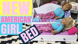 New American Girl Trundle Bed vs. American Girl Bouquet Bed