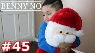 LUMPY OPENS HIS CHRISTMAS PRESENTS   BENNY NO   VLOG #45