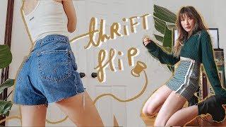 THRIFT FLIP // diy urban outfitters for ur inner hipster