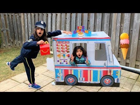 Xxx Mp4 Police Mcdonalds Happy Meal Delivery To Ice Cream Truck Pretend Play 3gp Sex