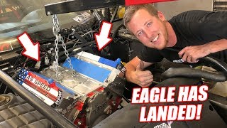 Dropping In Leroy's NEW Version 2.5 FREEDOM Engine! He's Never Looked This Good!