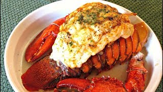 Lobster Tail with Claws - Preparation, Seasoning and Cooking - PoorMansGourmet