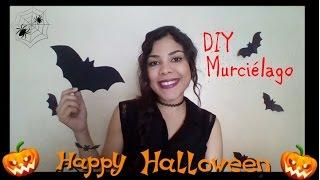 Especial Halloween: DIY Murciélago para decorar!!!