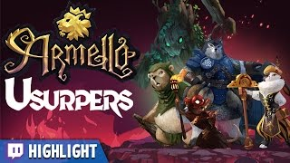 Armello - Round 3 - Usurpers DLC [Twitch Highlight]