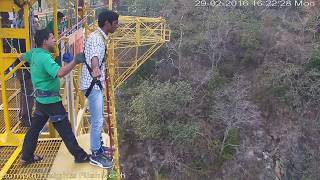 The Funny Bungee Jump in Rishikesh